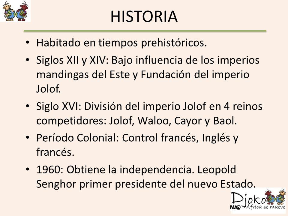 HISTORIA Habitado en tiempos prehistóricos.