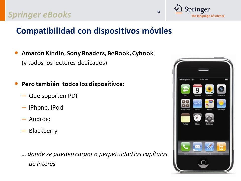 Compatibilidad con dispositivos móviles