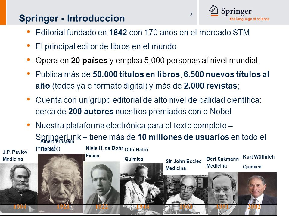 Springer - Introduccion