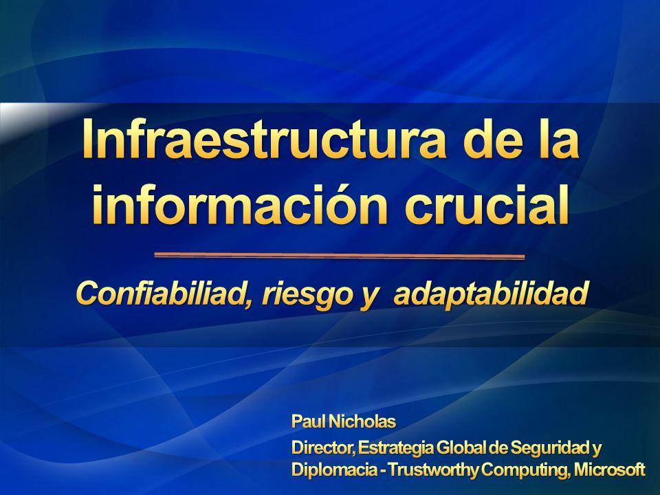 Infraestructura de la información crucial
