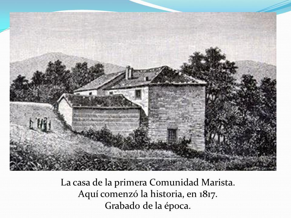La casa de la primera Comunidad Marista.