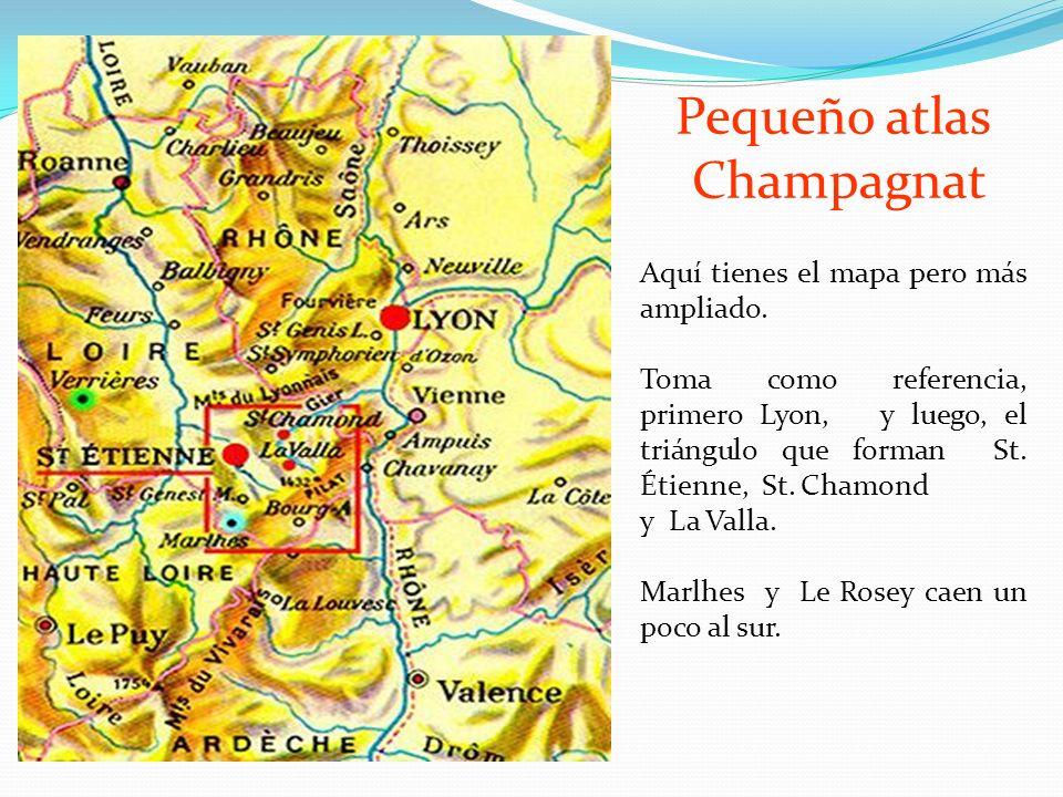 Pequeño atlas Champagnat Aquí tienes el mapa pero más ampliado.