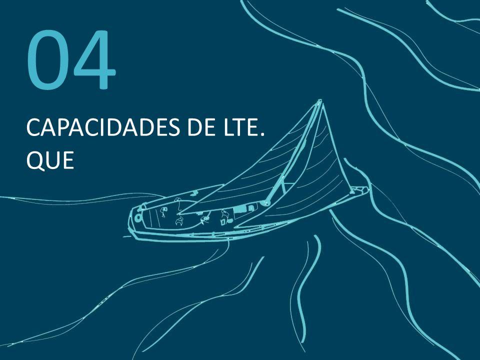 04 CAPACIDADES DE LTE. QUE