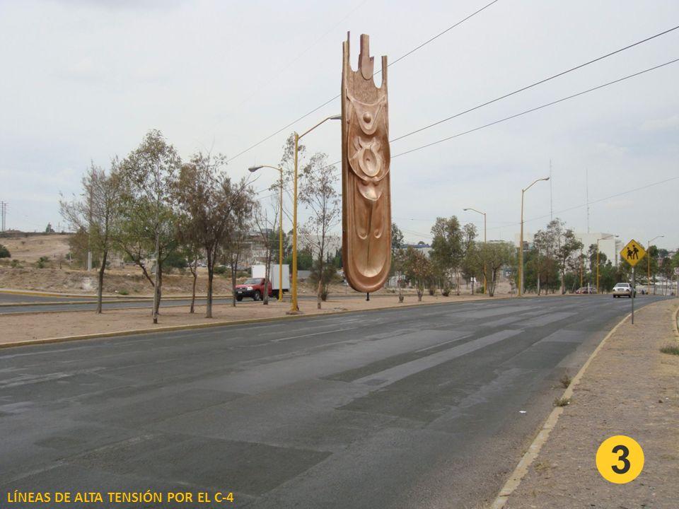 LÍNEAS DE ALTA TENSIÓN POR EL C-4