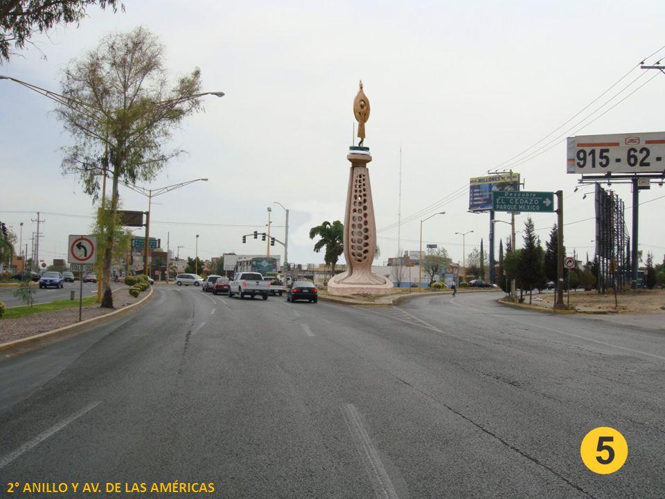 2° ANILLO Y AV. DE LAS AMÉRICAS