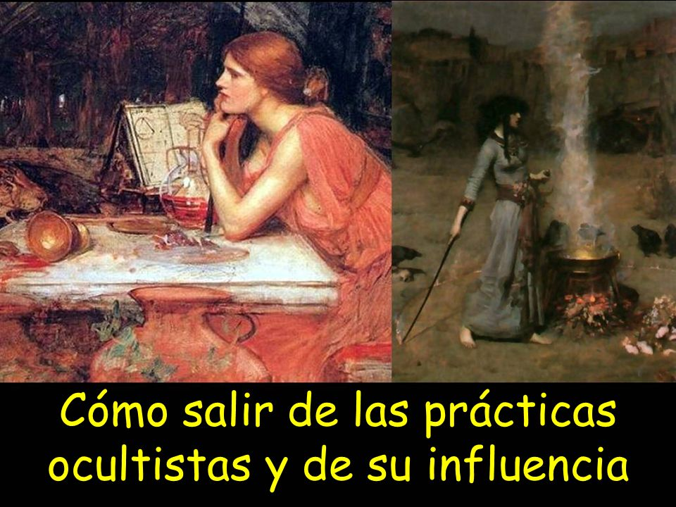 Cómo salir de las prácticas ocultistas y de su influencia