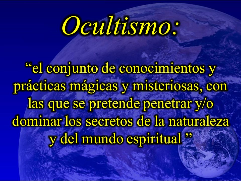 Ocultismo: