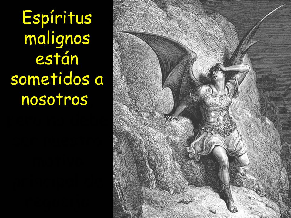 Espíritus malignos están sometidos a nosotros, pero no debe ser nuestro motivo principal de regocijo