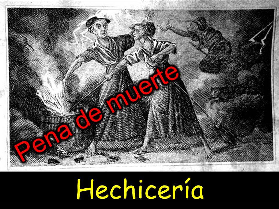 Pena de muerte Hechicería
