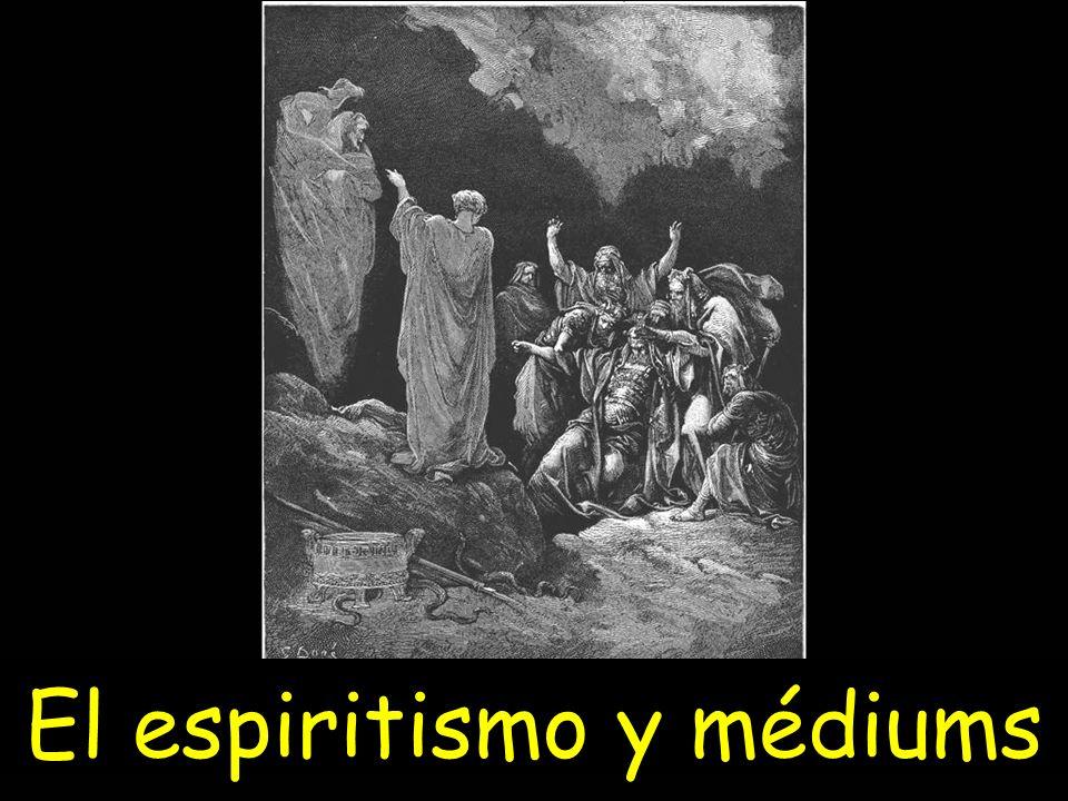 El espiritismo y médiums
