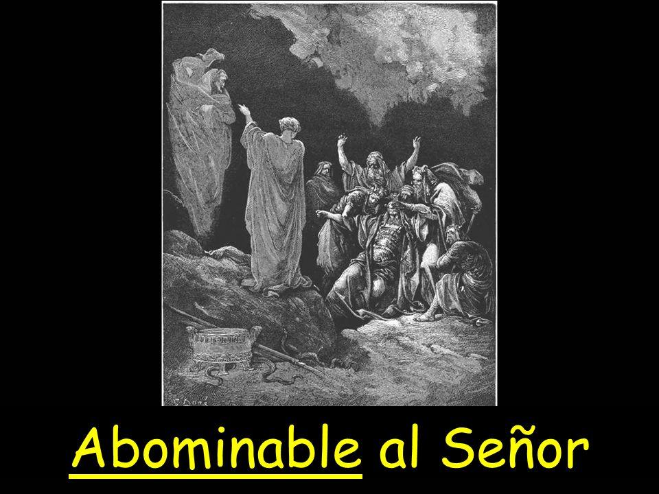 Abominable al Señor