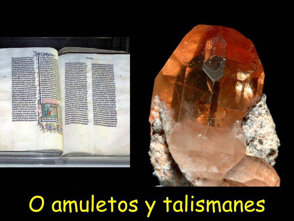 O amuletos y talismanes