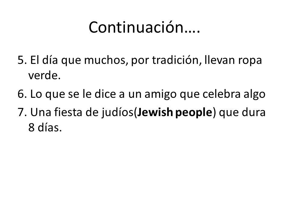 Continuación….