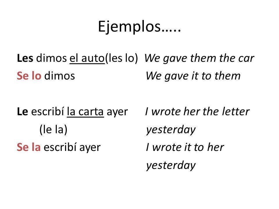 Ejemplos…..