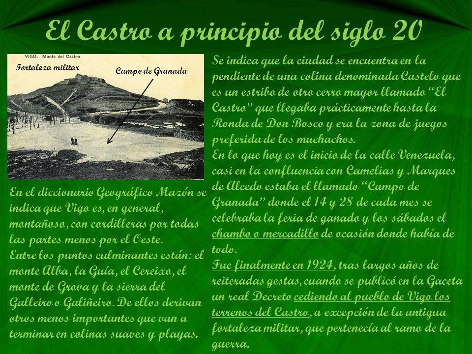 El Castro a principio del siglo 20