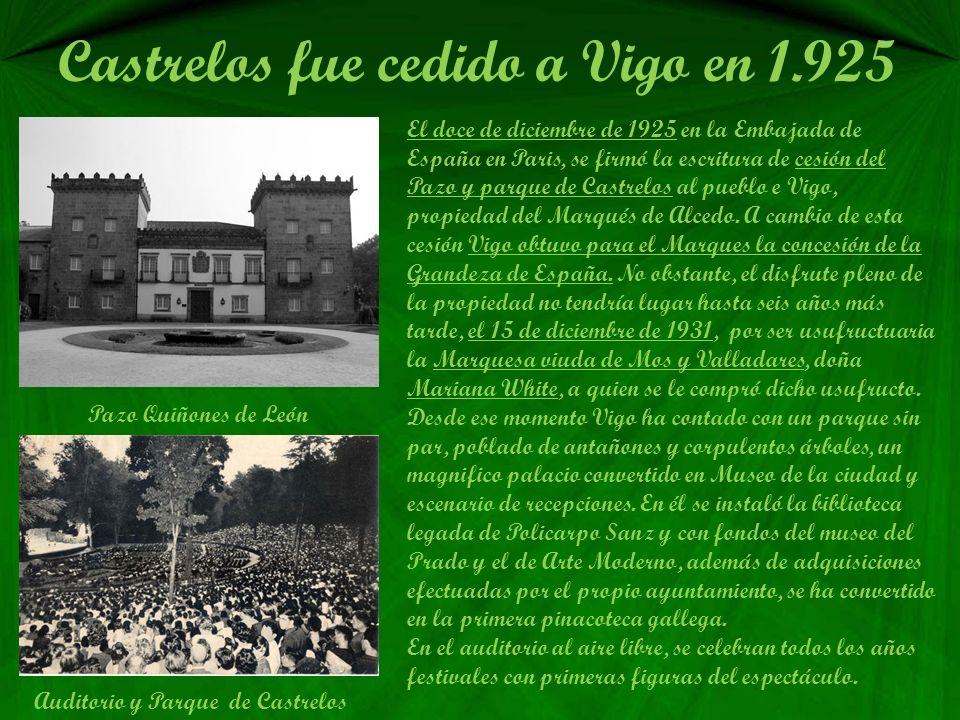 Castrelos fue cedido a Vigo en 1.925