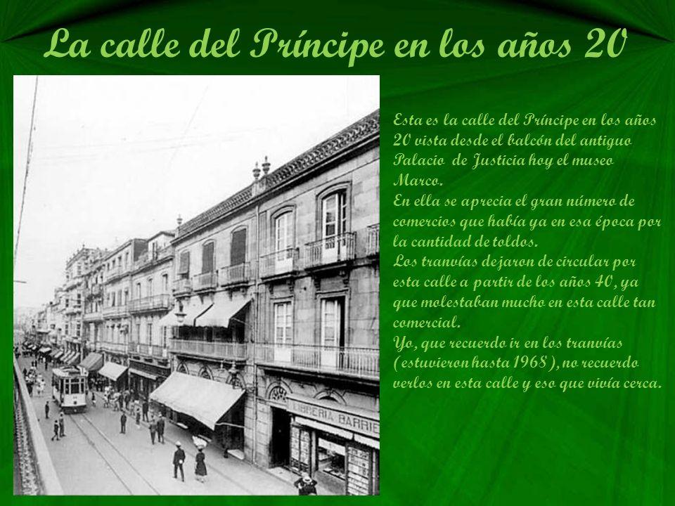 La calle del Príncipe en los años 20