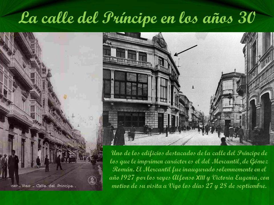 La calle del Príncipe en los años 30