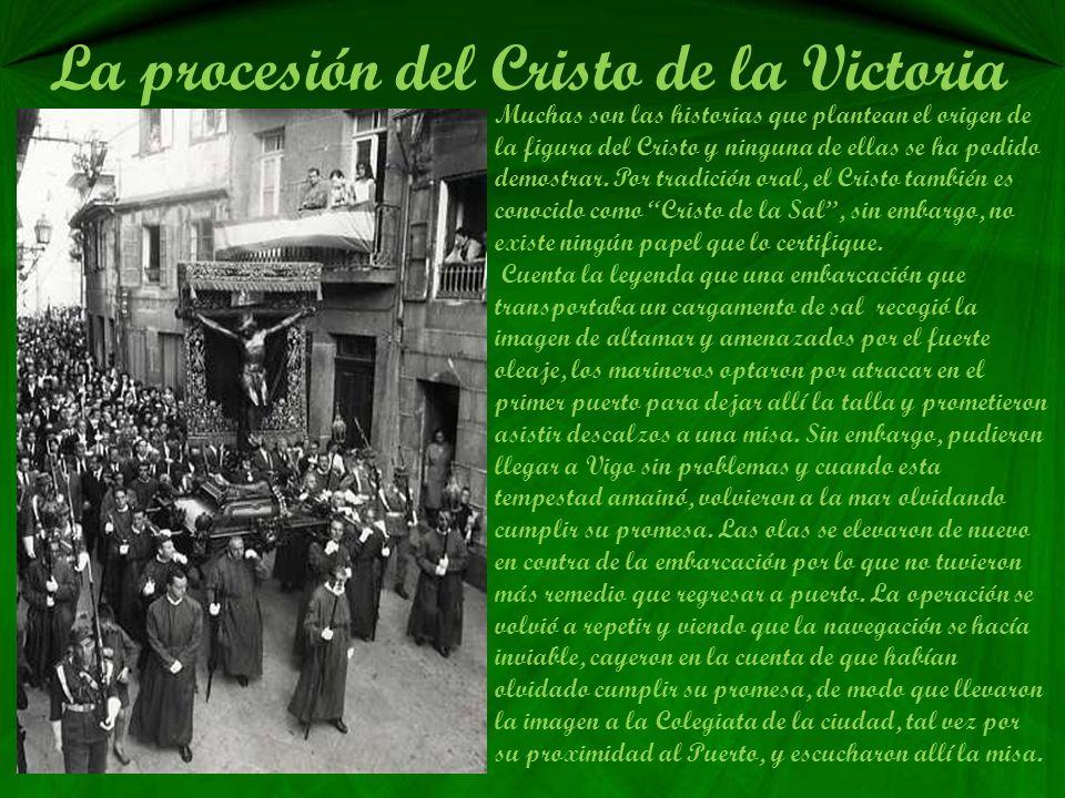 La procesión del Cristo de la Victoria