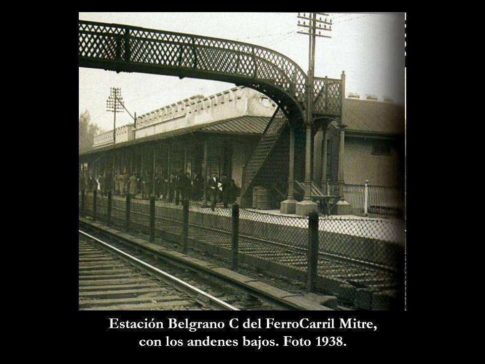 Estación Belgrano C del FerroCarril Mitre,