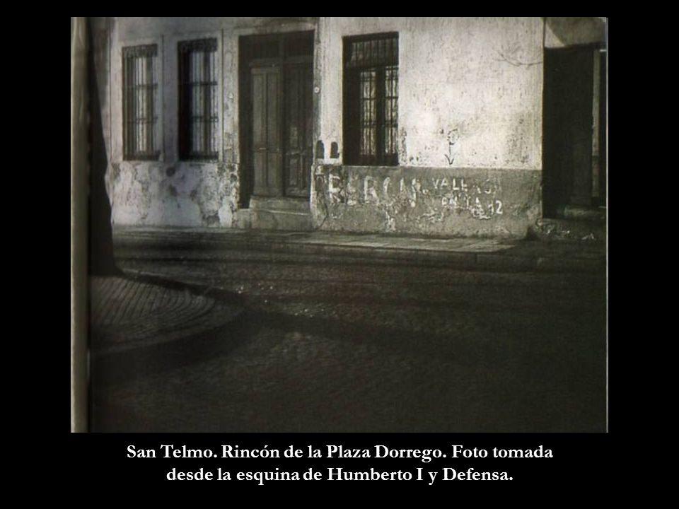 San Telmo. Rincón de la Plaza Dorrego. Foto tomada