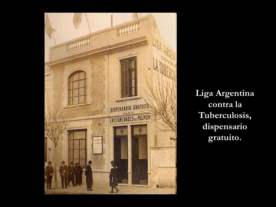 Liga Argentina contra la Tuberculosis, dispensario