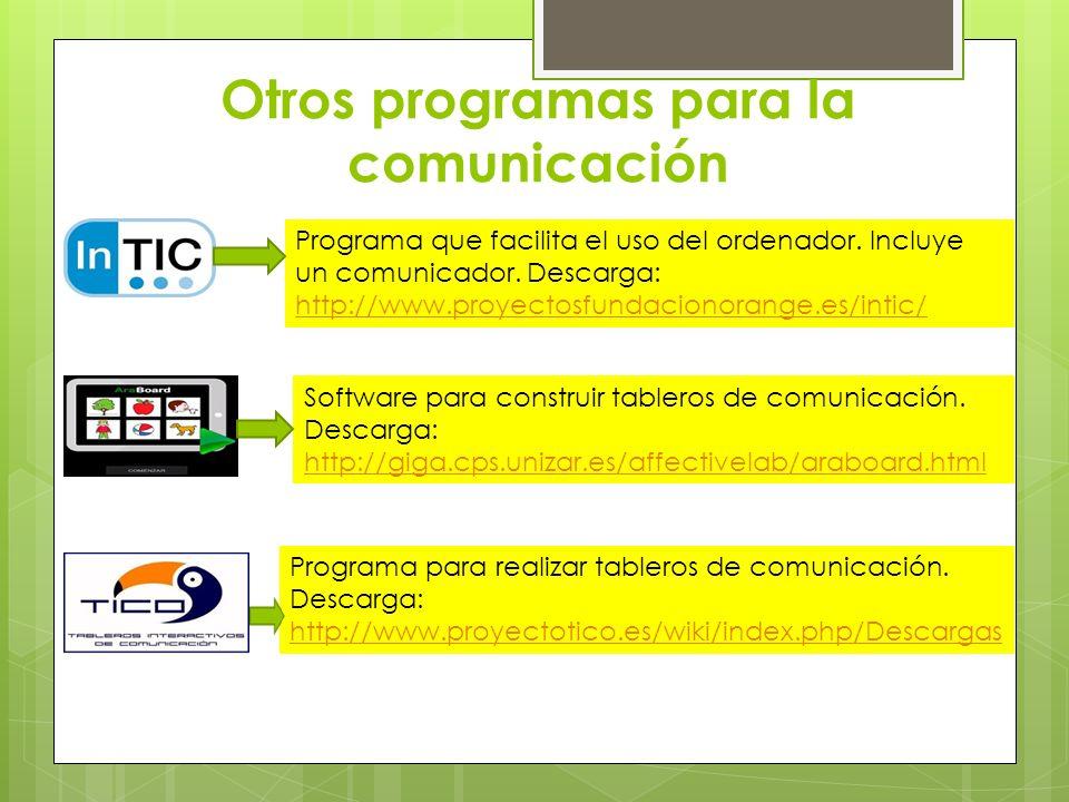 Otros programas para la comunicación