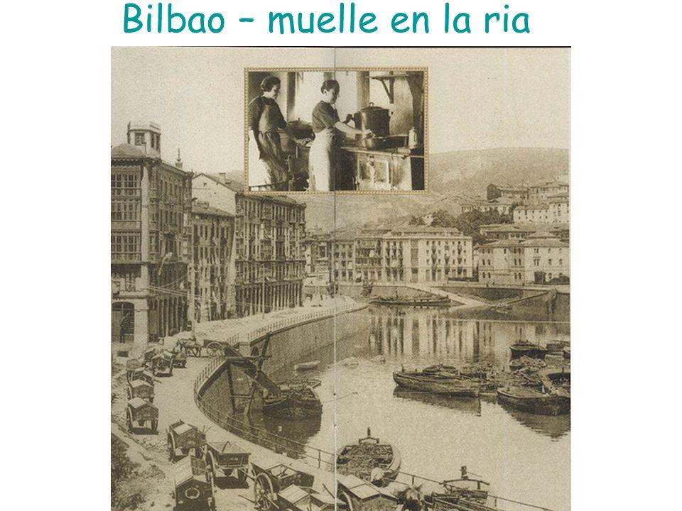 Bilbao – muelle en la ria