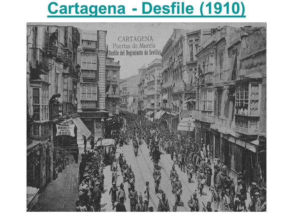 Cartagena - Desfile (1910)