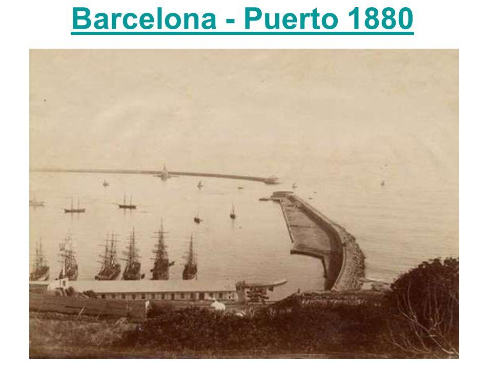 Barcelona - Puerto 1880