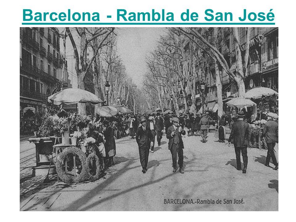 Barcelona - Rambla de San José