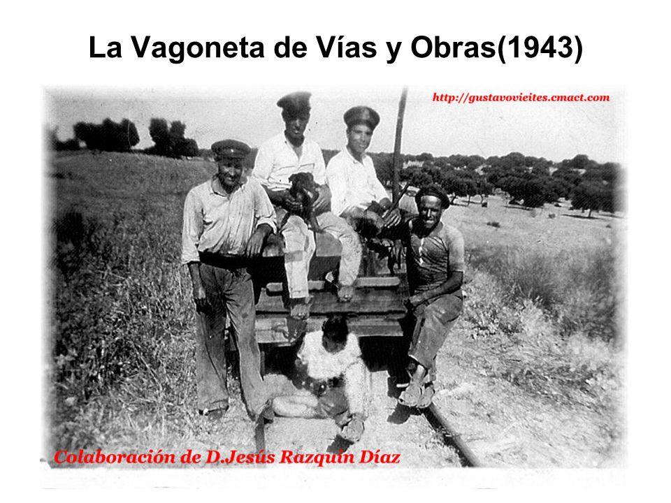 La Vagoneta de Vías y Obras(1943)