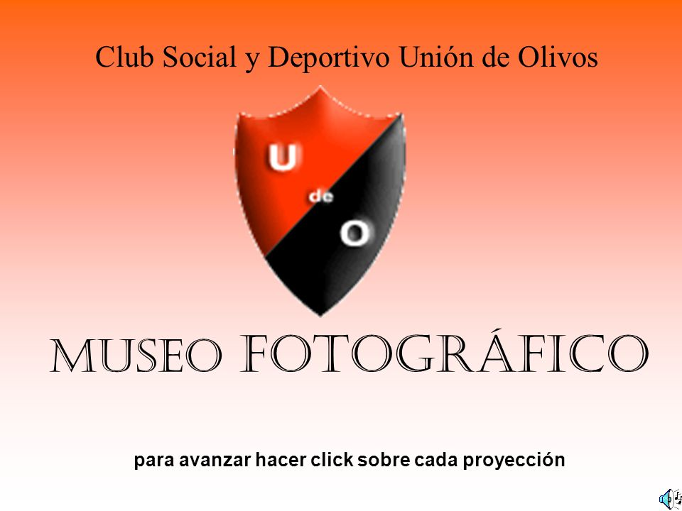 MUSEO FOTOGRÁFICO para avanzar hacer click sobre cada proyección