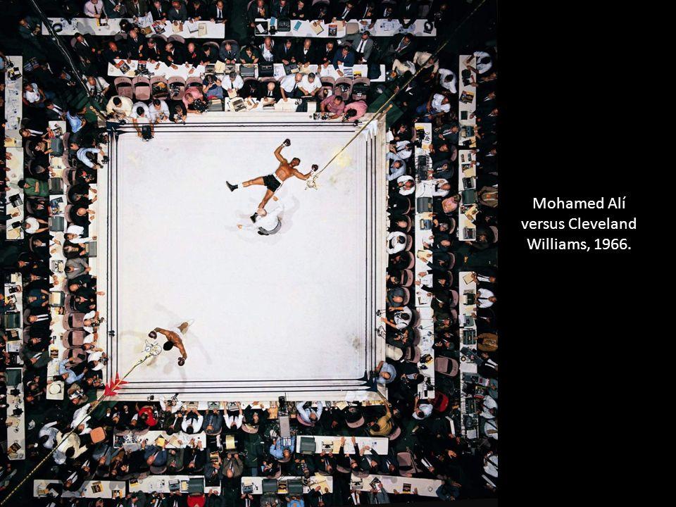 Mohamed Alí versus Cleveland Williams, 1966.