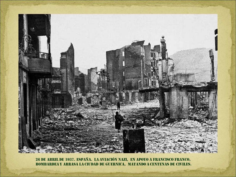 26 DE ABRIL DE 1937. España.