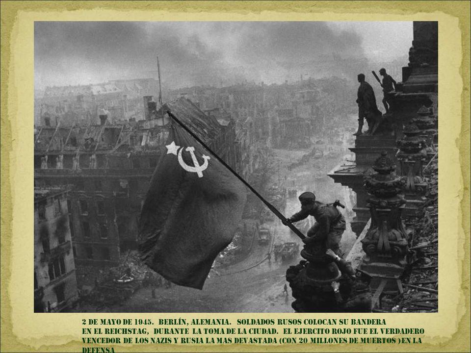 2 de mayo DE 1945. Berlín, Alemania