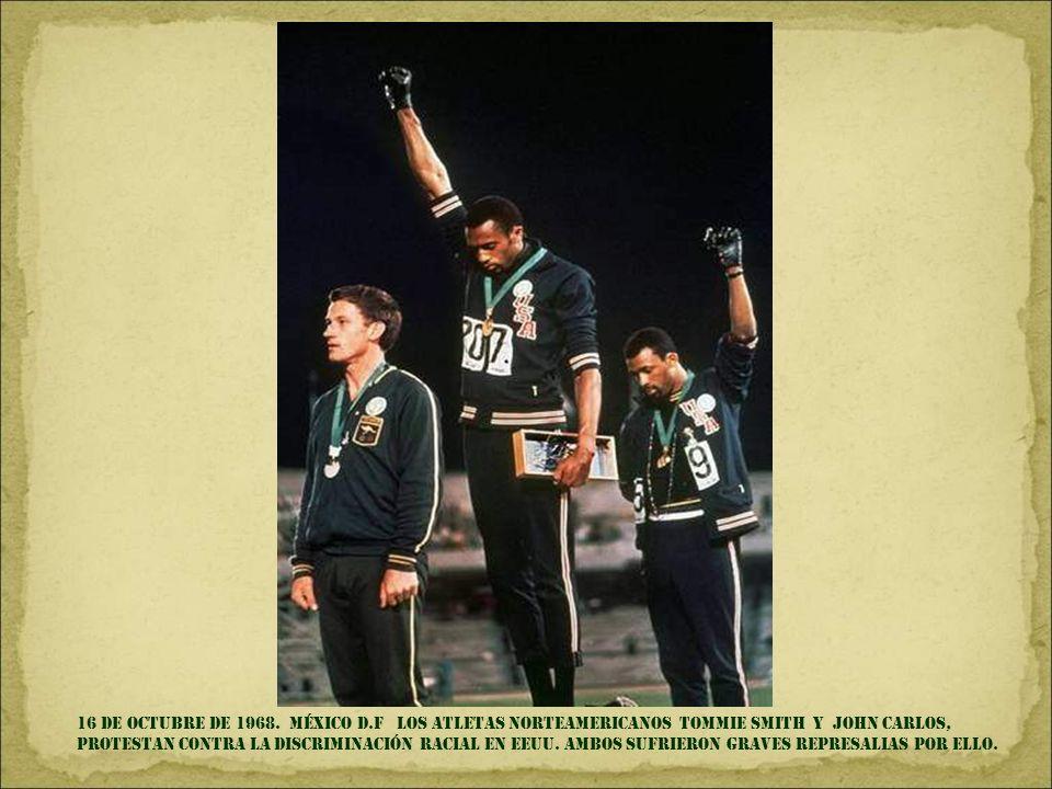16 de OCTUBRE DE 1968.