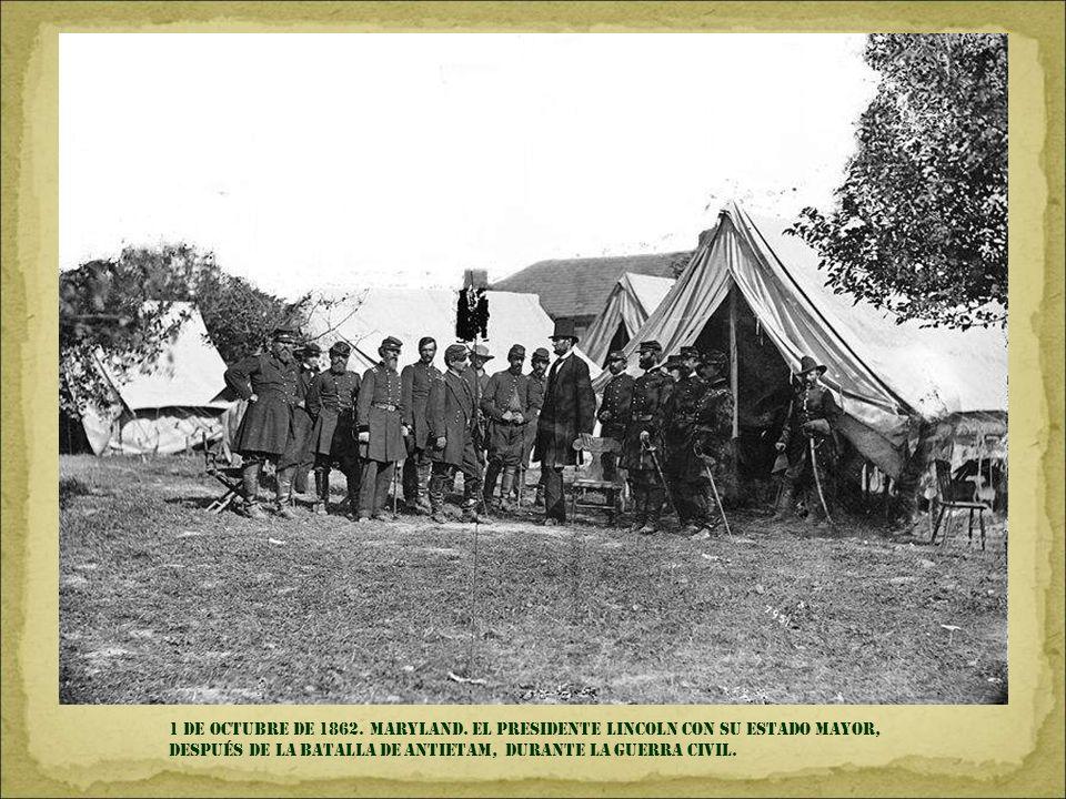 1 DE OCTUBRE DE 1862. MARYLAND.