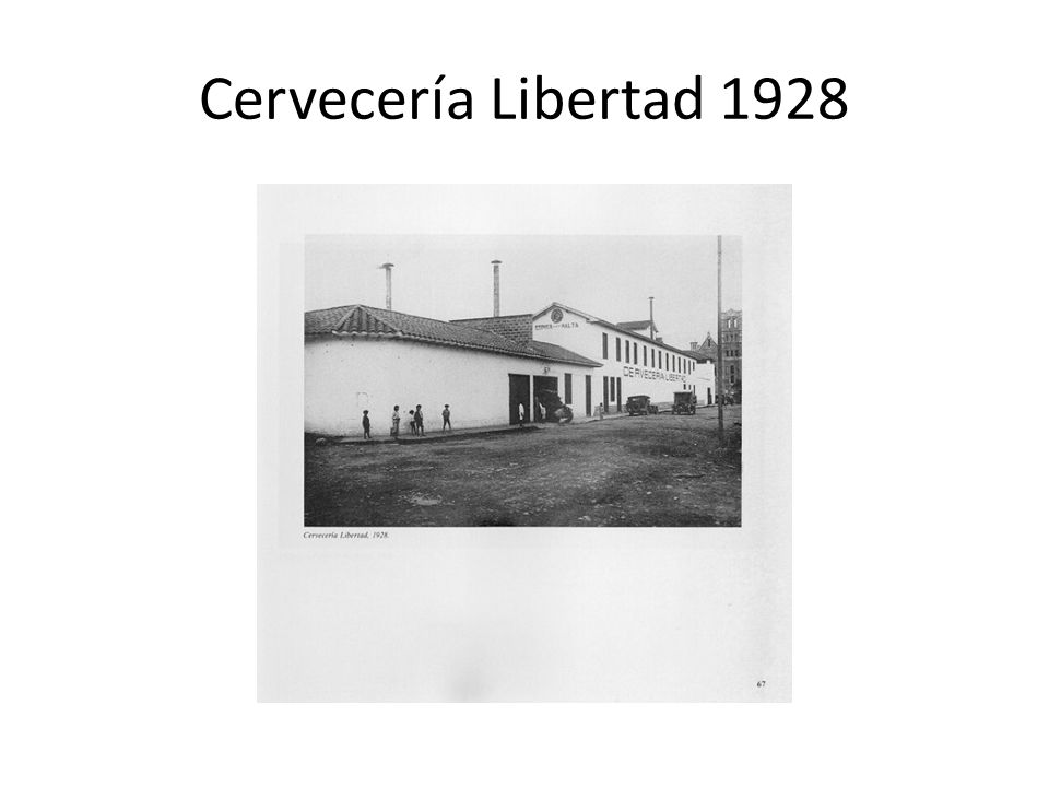 Cervecería Libertad 1928