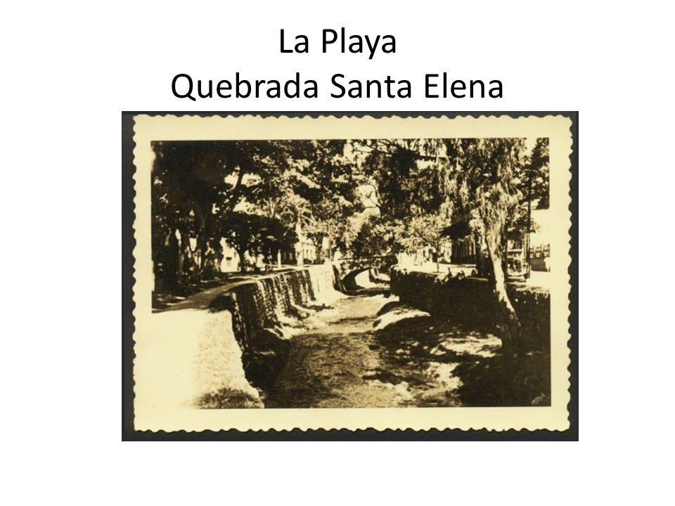 La Playa Quebrada Santa Elena