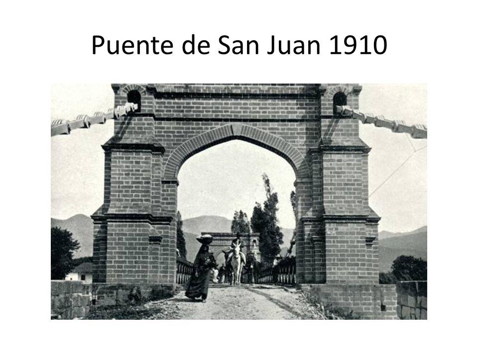 Puente de San Juan 1910