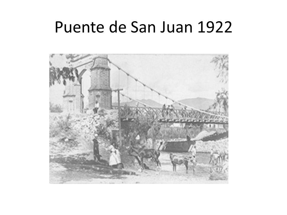 Puente de San Juan 1922