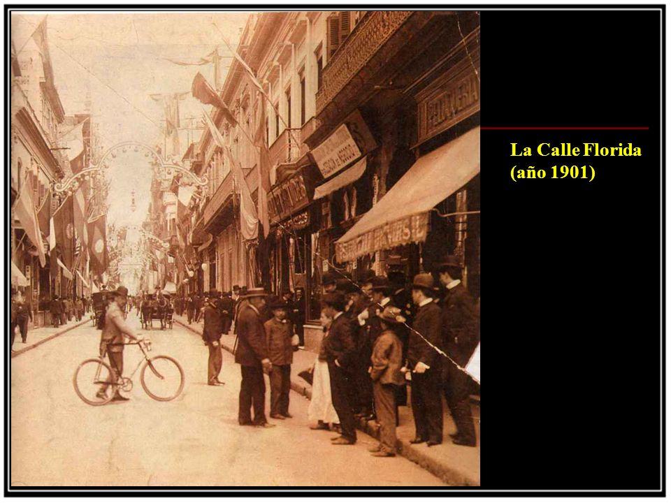 La Calle Florida (año 1901)