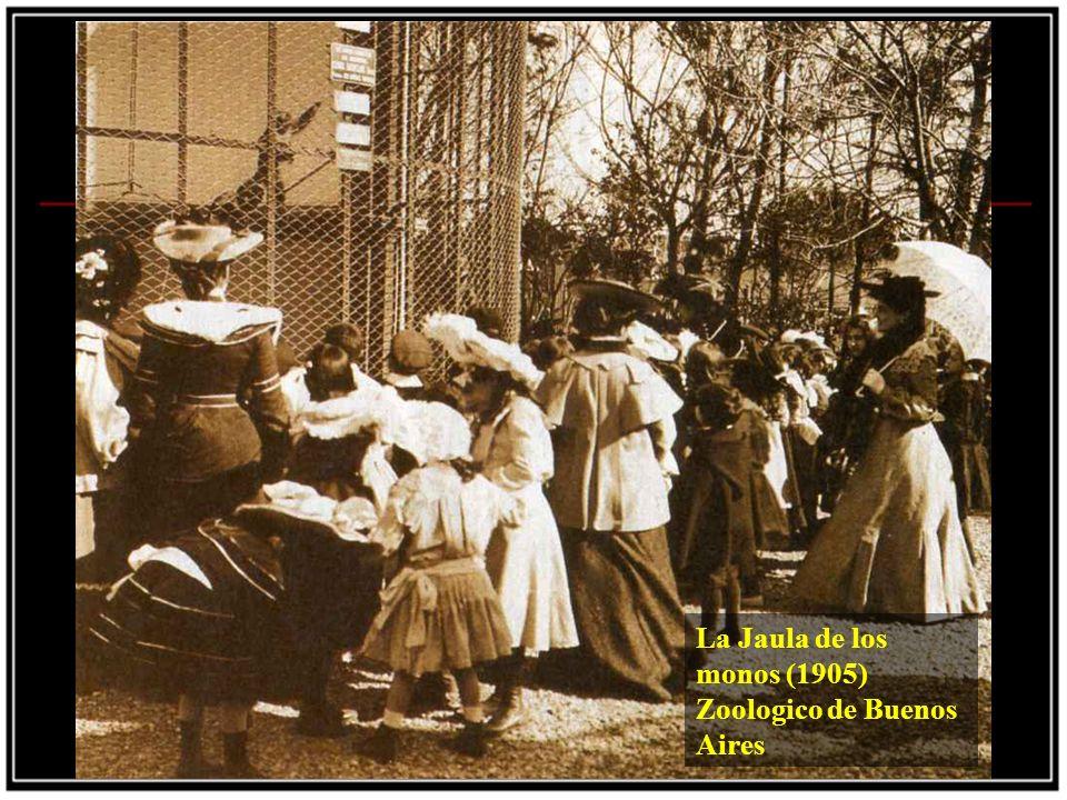 La Jaula de los monos (1905) Zoologico de Buenos Aires