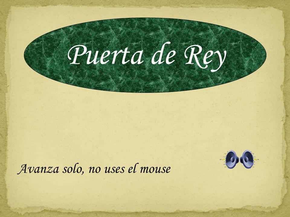 Puerta de Rey Avanza solo, no uses el mouse