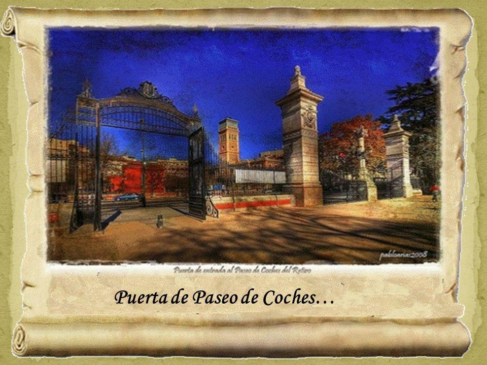 Puerta de Paseo de Coches…