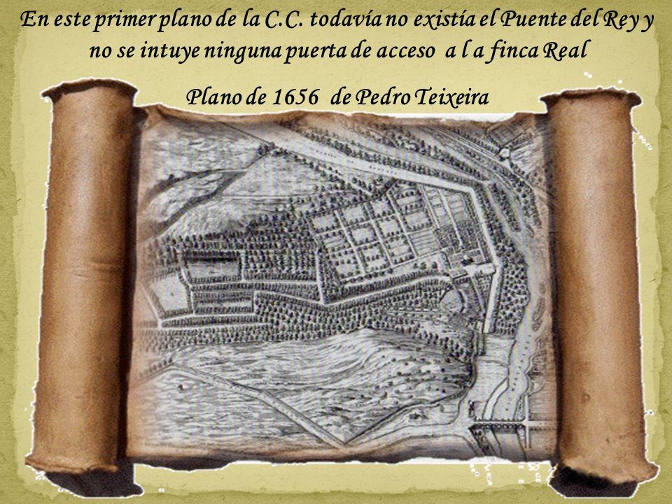Plano de 1656 de Pedro Teixeira