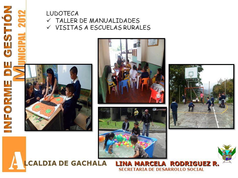 A MUNICIPAL 2012 INFORME DE GESTIÓN