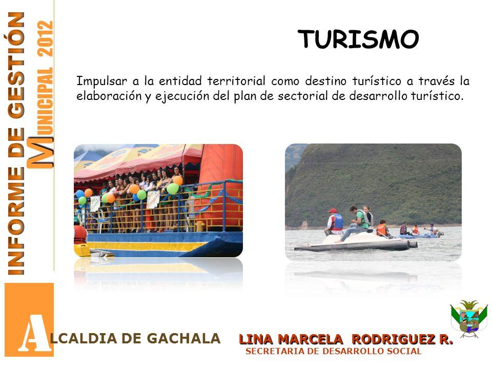 A MUNICIPAL 2012 TURISMO INFORME DE GESTIÓN