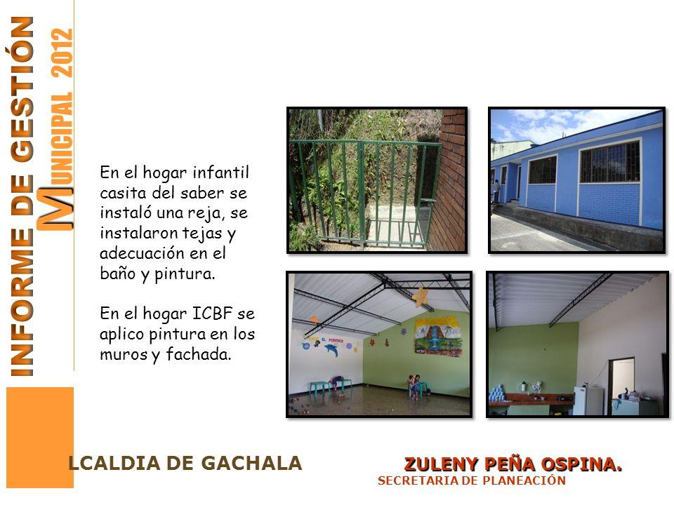 MUNICIPAL 2012 INFORME DE GESTIÓN